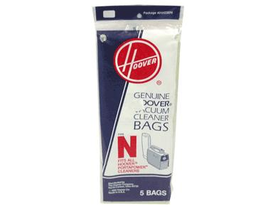 Hoover 5 Pack Genuine Type N Bags