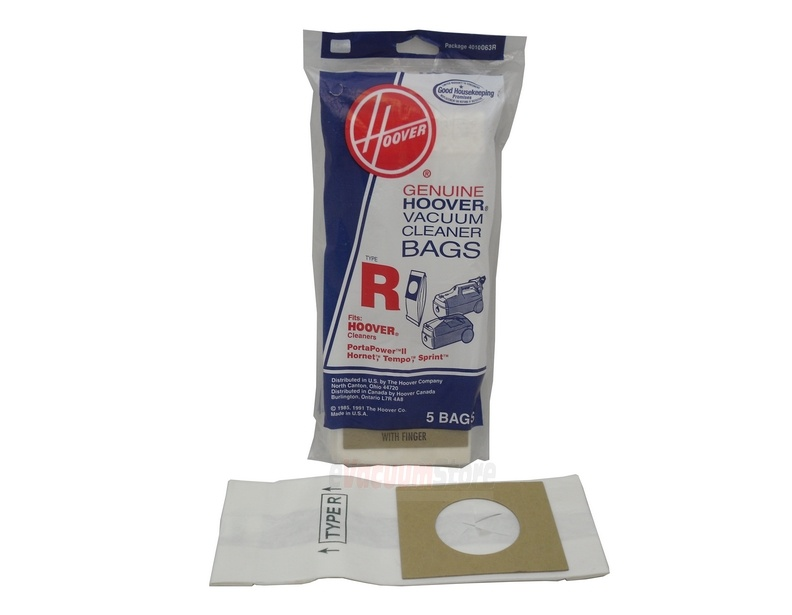 Hoover 5 Pack Genuine Type R Bags