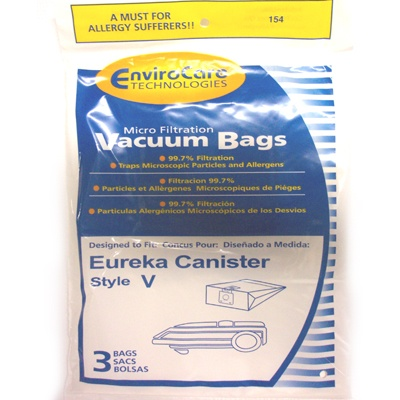 Eureka Rally Vacuum 3800 Series Style V Bag 3Pk