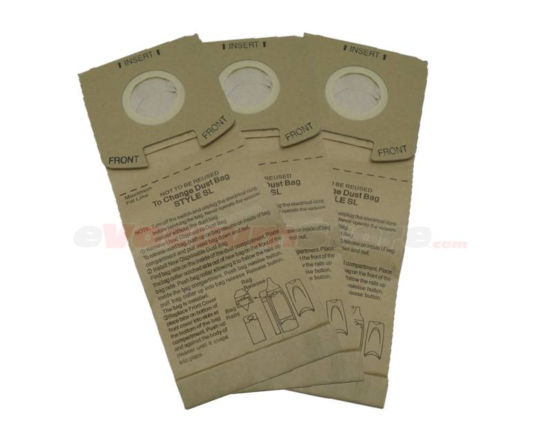 Sanitaire Light Upright SC785-AT PAPER BAG PKG STYLE SL