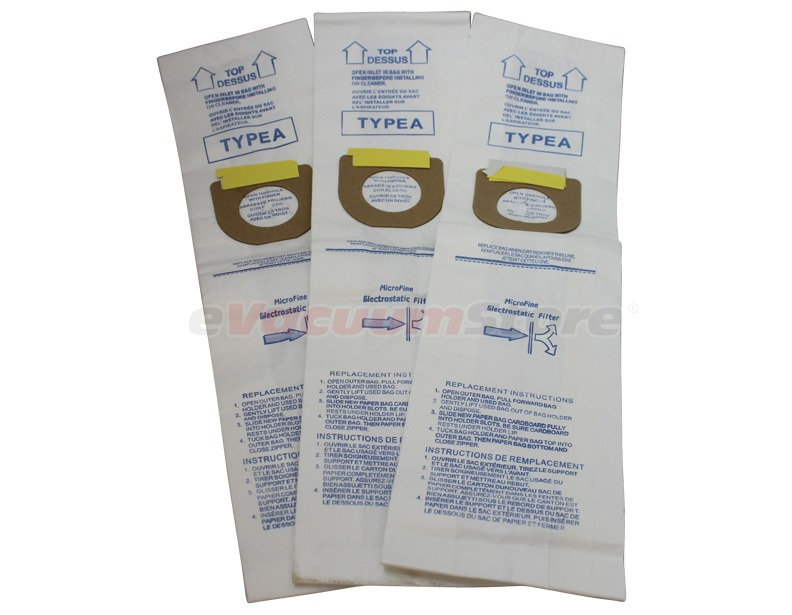 Hoover 3 Pack Generic Type A Bags