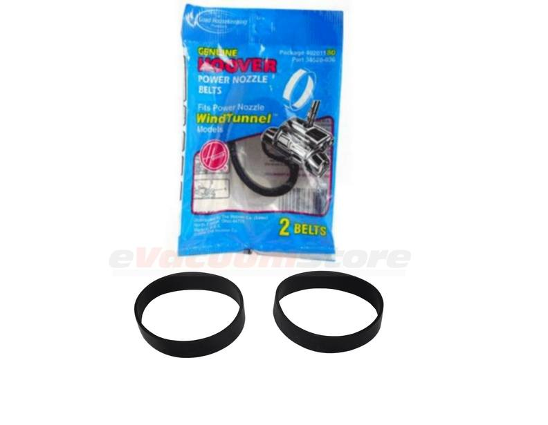 Hoover Power Nozzle Belts 38528-036 - 2 Pack