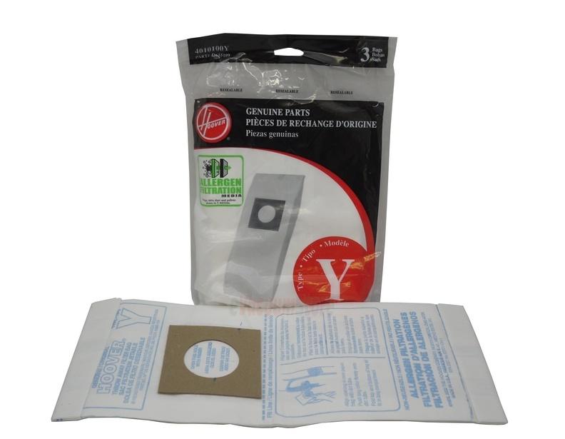 Hoover Tempo Upright Vacuum Aller Filter Y Bag 3 Pack