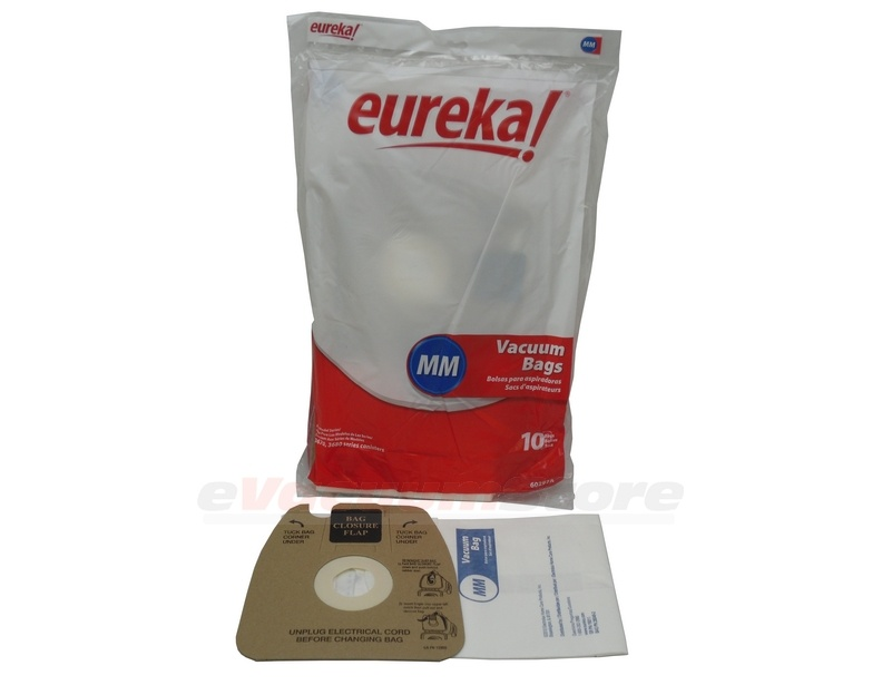 Eureka Style Mm Vacuum Bags Genuine 100 Pack