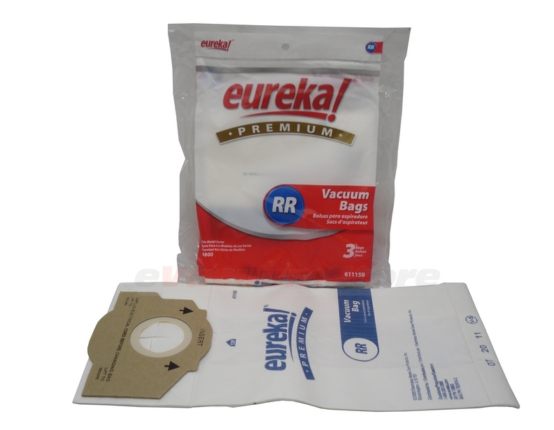 Eureka Vacuum Cleaner Bags Style Rr 9 Pack Genuine