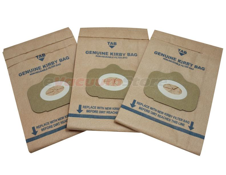 Kirby Tradition Vacuum Bags Style NO. 1 Genuine - 3 Pack
