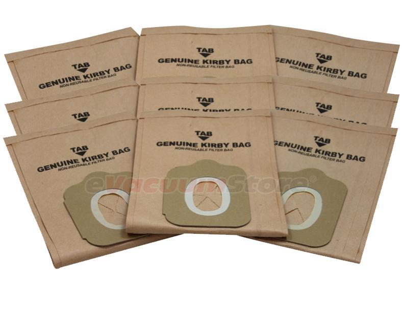 Kirby Heritage I Vacuum Bags Style NO. 2 Genuine - 9 Pack