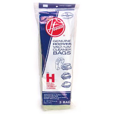 Hoover 3 Pack Genuine Type H Bags