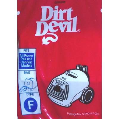 Dirt Devil Style F Genuine 3 Pack