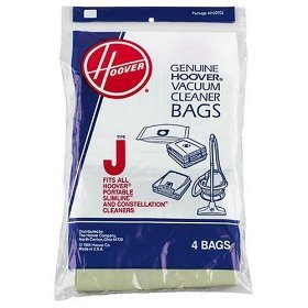 Hoover 3 Pack Genuine Type J Bags