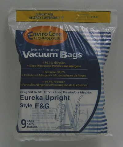 Sanitaire F and G bags 9 pack
