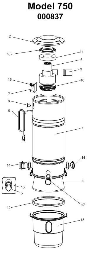 Beam Classic Series Model 750 Evacuumstore Com