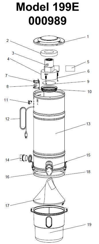 Beam Classic Series Model 199e Evacuumstore Com