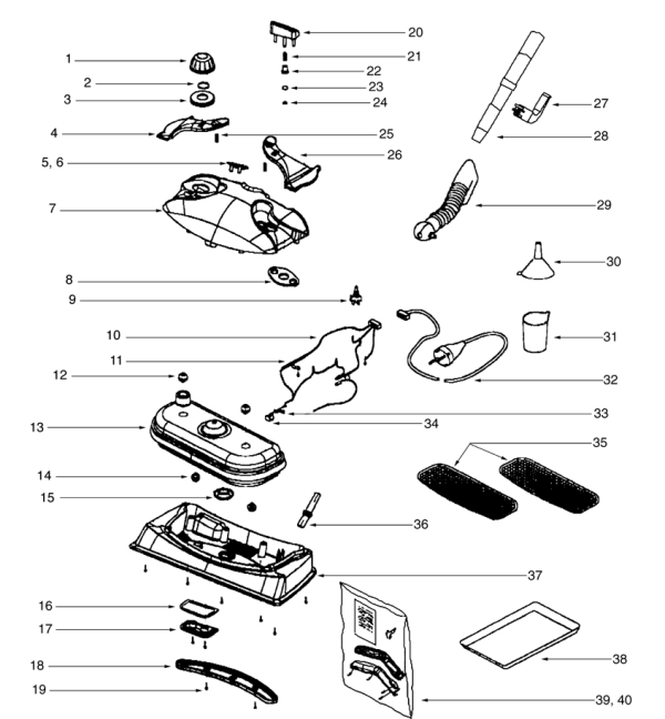 Eureka Steam Mop 313a Parts Diagram Evacuumstore Com