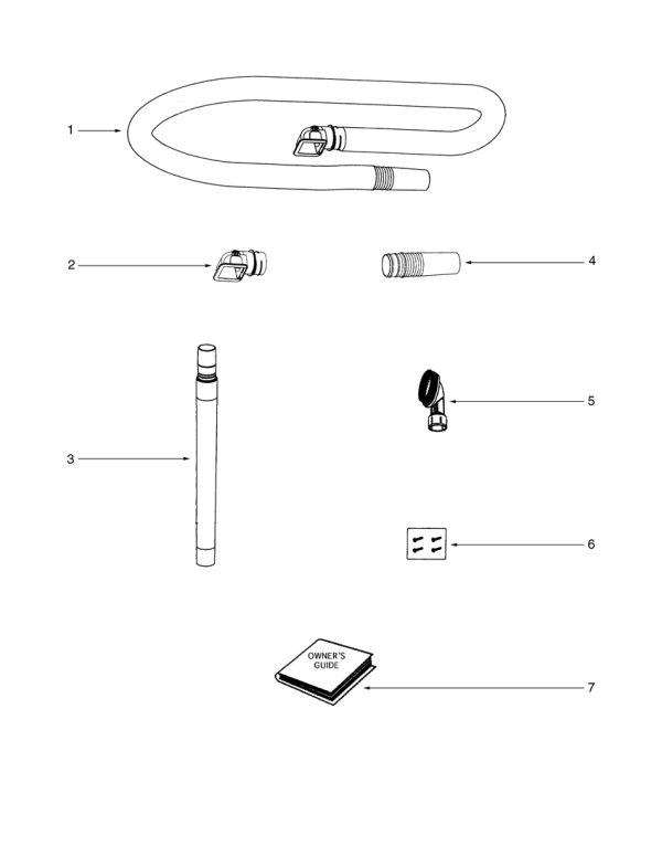 eureka series 5800 factory parts diagrams and schematics  evacuumstore com